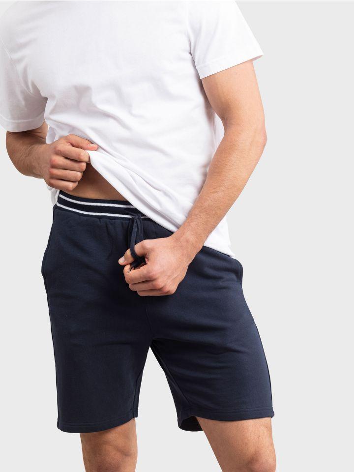 מכנסי בד קצרים SAILOR LOOK