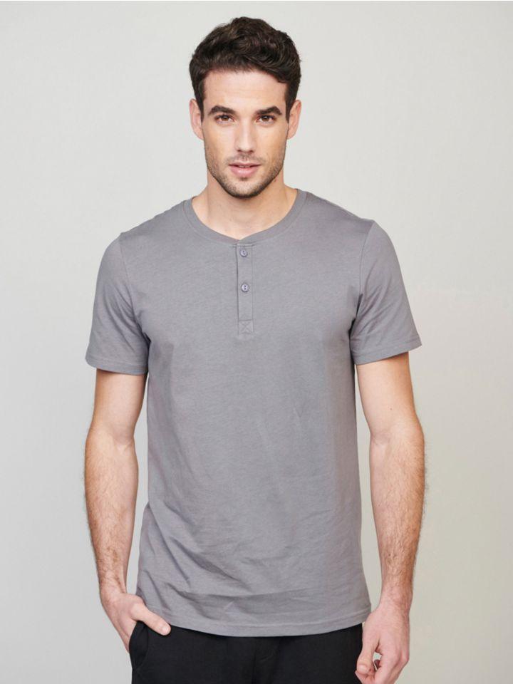 חולצה קצרה BUTTONED T