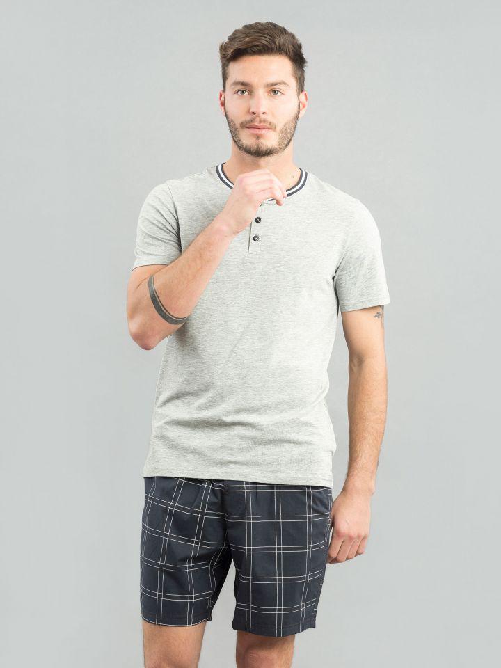 חולצת שינה ROUND NECK