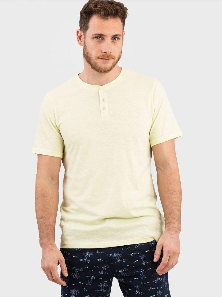 חולצה קצרה SLUB TEE