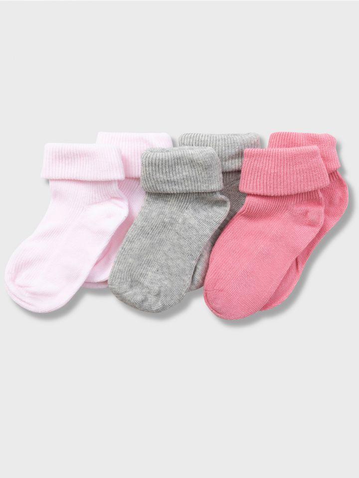 מארז שלישיית גרבי תינוקות בייסיק