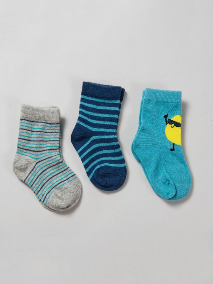 שלישיית גרביים BLUE PALETTE