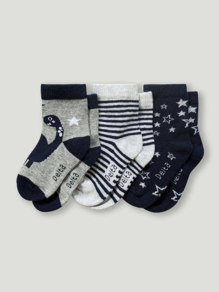 3 גרביים במארז BABY BOY