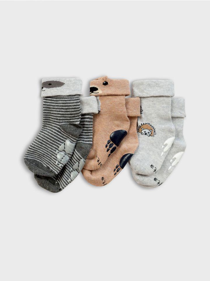 3 גרביים במארז WILD LIFE