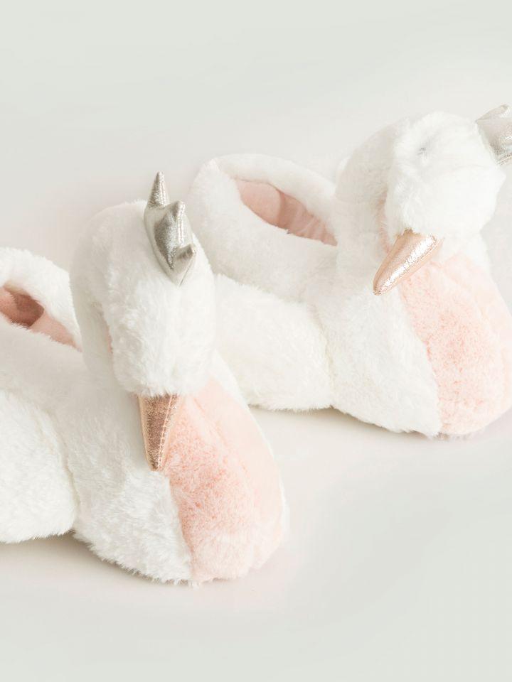 נעלי בית לבת SWAN GIRL