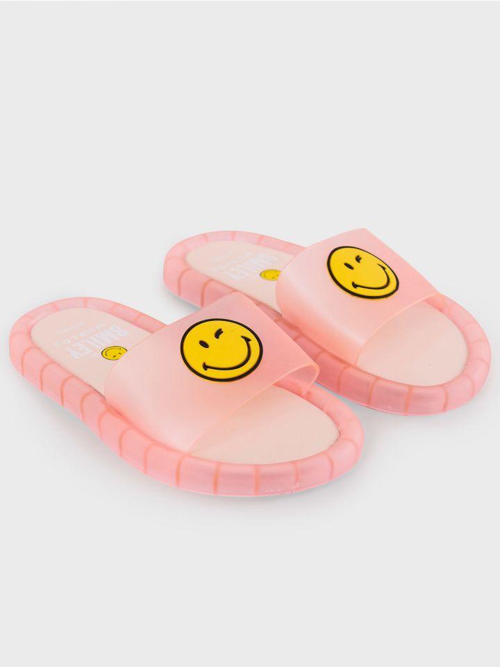 כפכפים עם אורות SMILEYWORLD® PINK