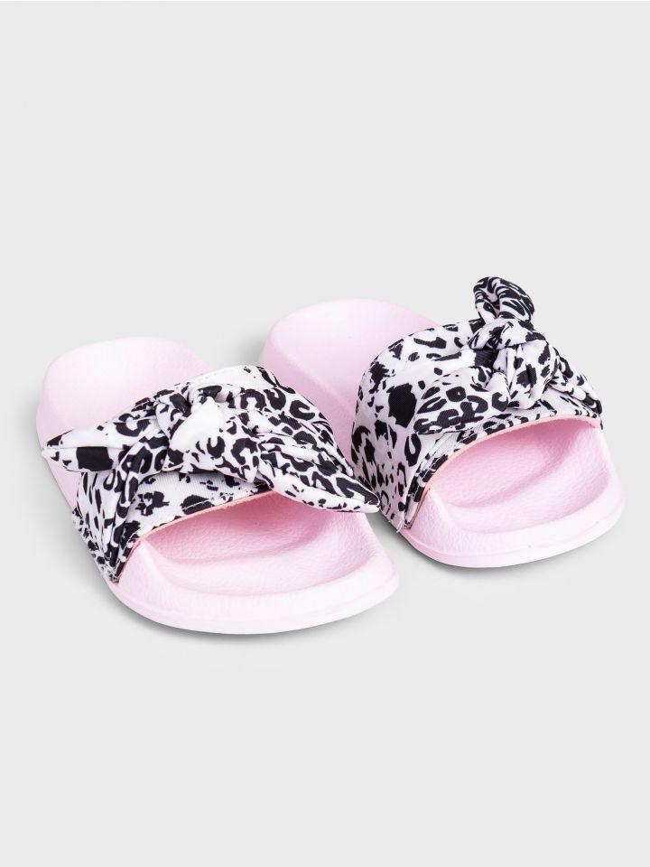 נעלי בית מנומרות PAPILLON TOUCH