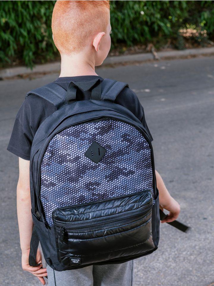 תיק גב מרופד BACK TO SCHOOL