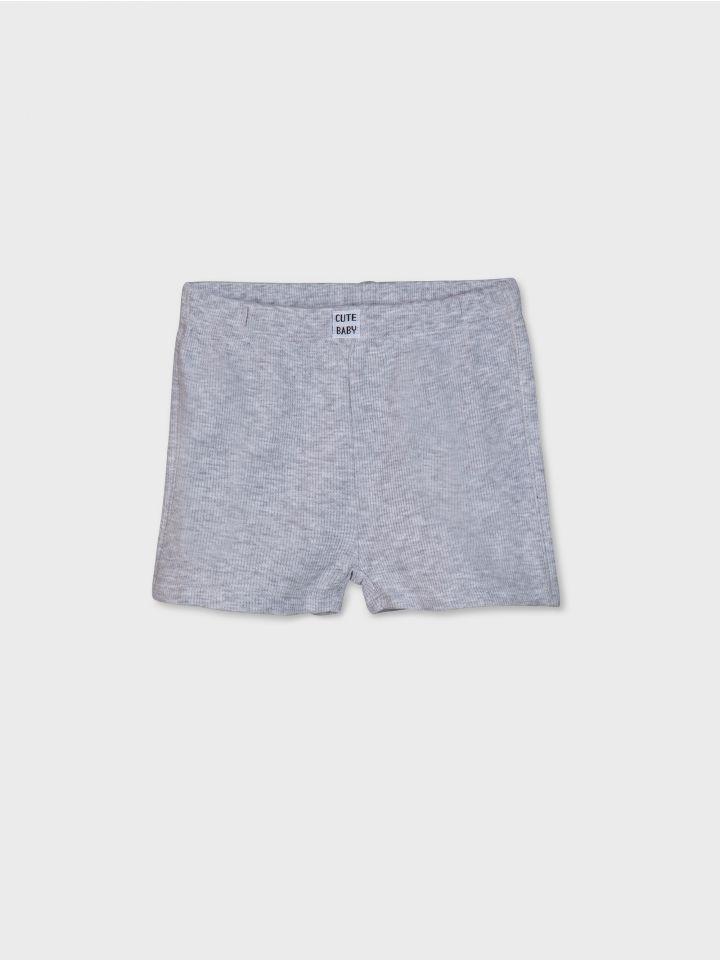 מכנסיים קצרים WAFFLE TOUCH יוניסקס