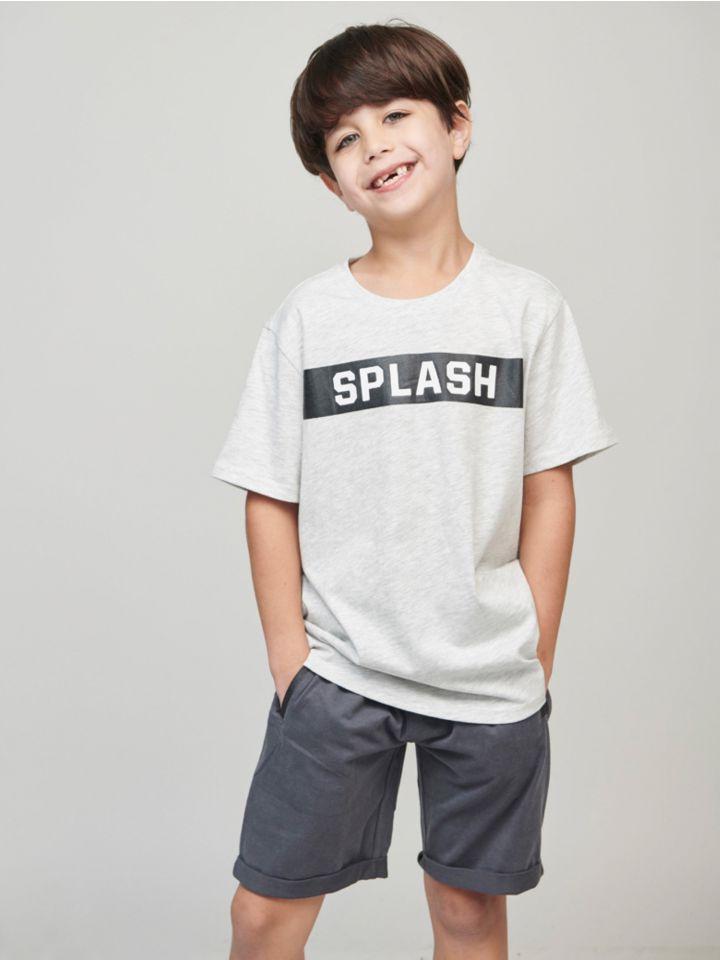 חולצה קצרה SPLASH PRINT