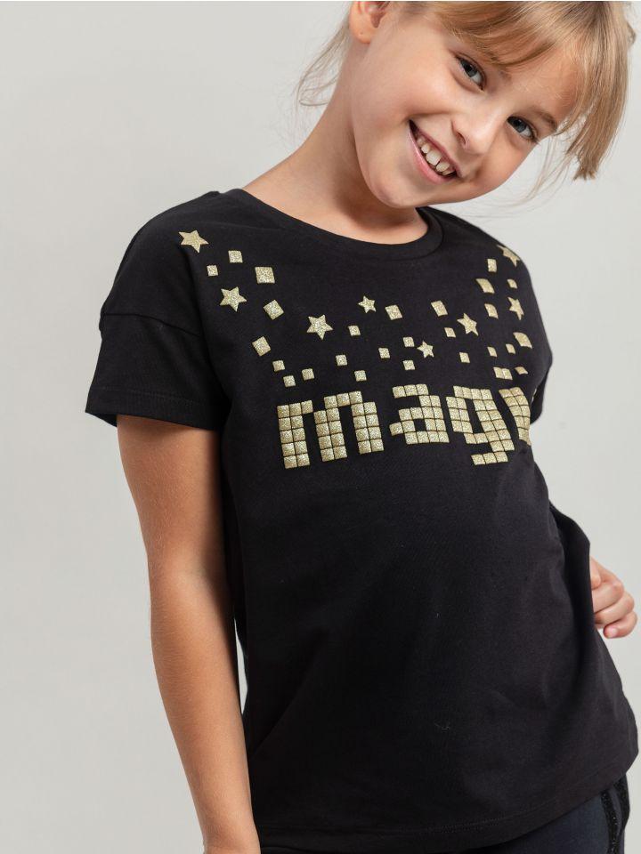 חולצת אפליקציות PIXEL MAGIC