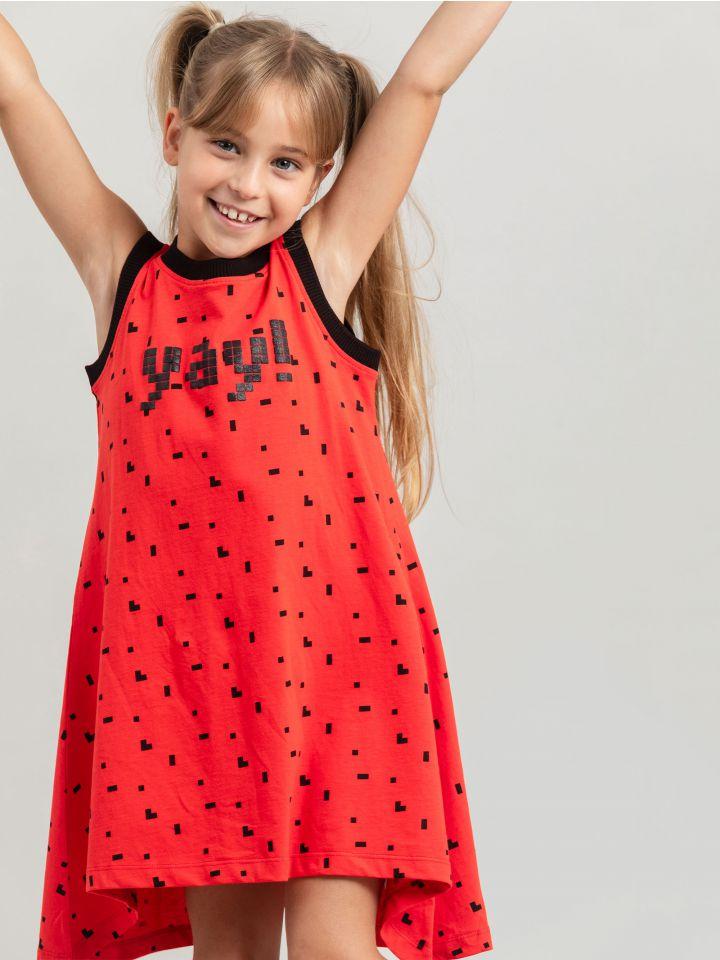 שמלת מסתובבת PIXEL YAY