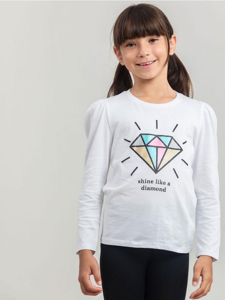חולצה ארוכה SHINING DIAMOND