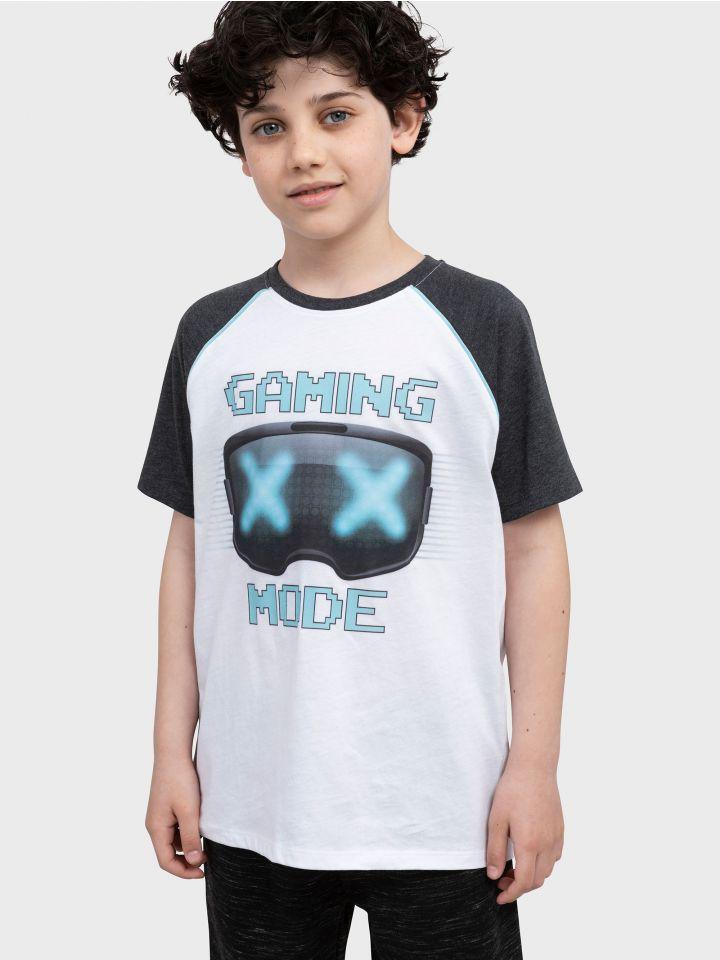 חולצה קצרה GAMING MODE