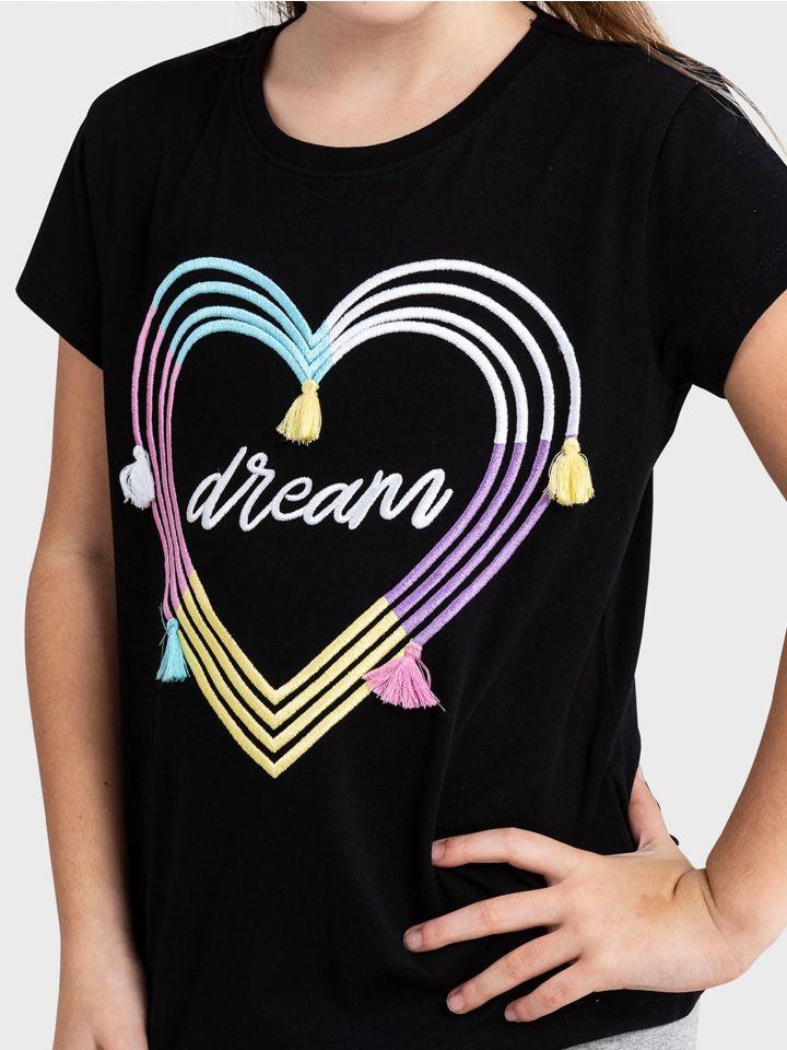 חולצה קצרה DREAM GIRL