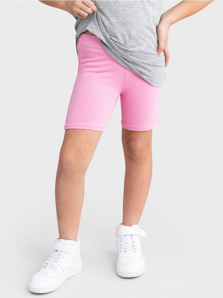מכנסי טייץ קצרים PINK SHORTS