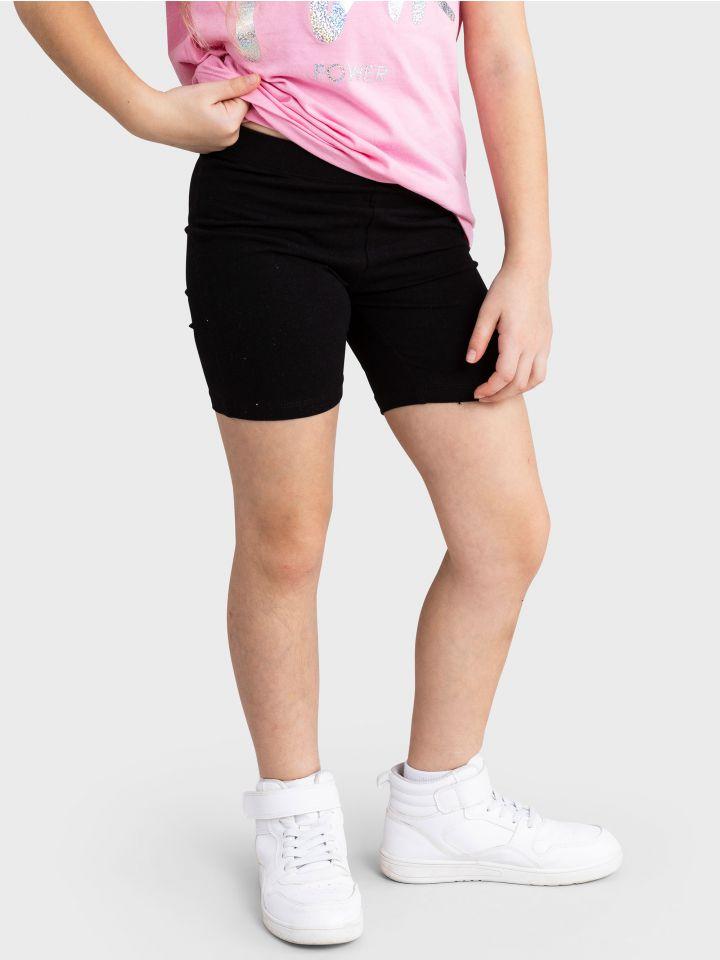 מכנסי טייץ קצרים BLACK SHORTS
