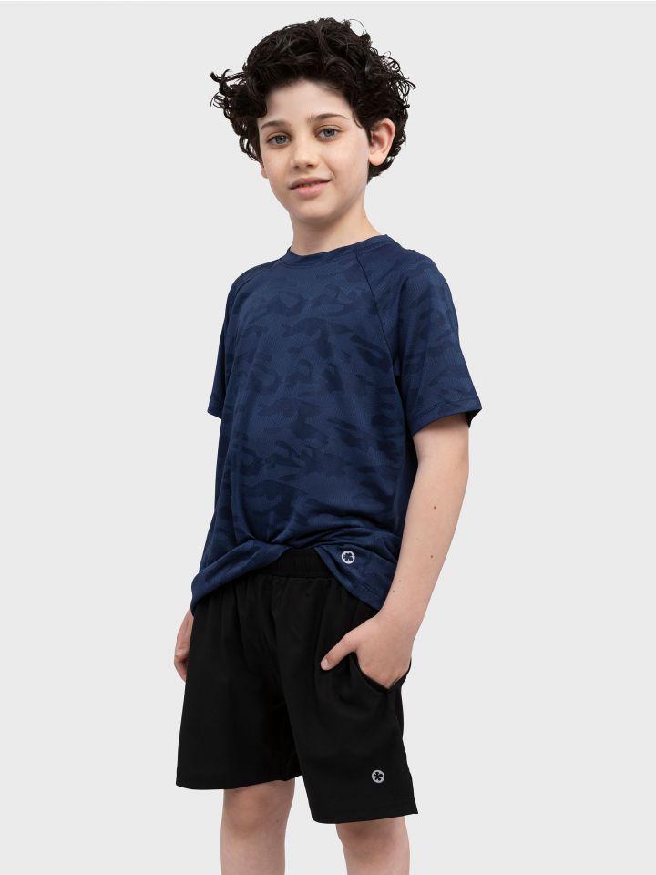 חולצת ספורט קצרה BLUE STYLE
