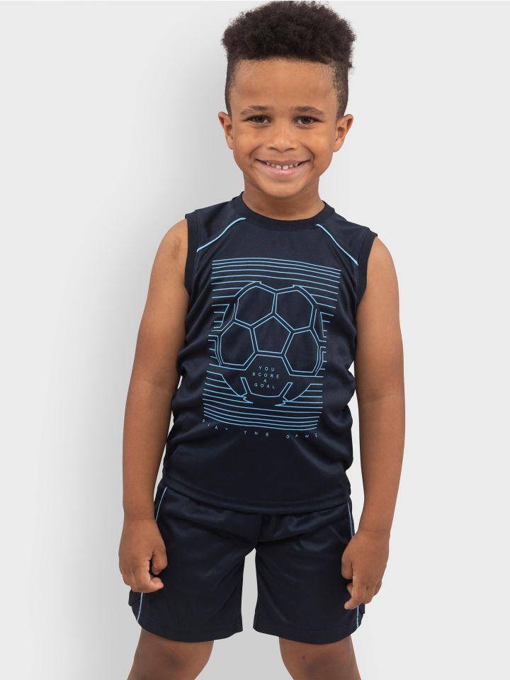 חליפה במראה ספורטיבי SOCCER BOY