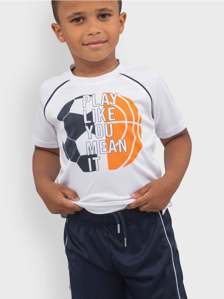 חליפה במראה ספורטיבי BALL GAMES