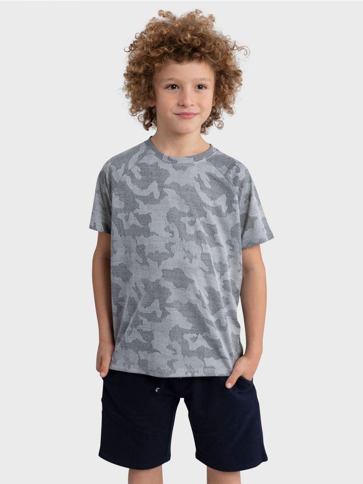 חולצת ספורט קצרה CAMO STYLE