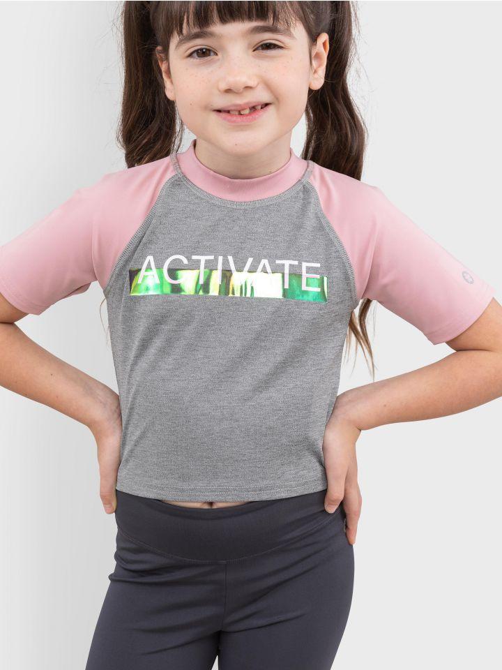 חולצת קרופ ספורטיבית ACTIVATE YOURSELF