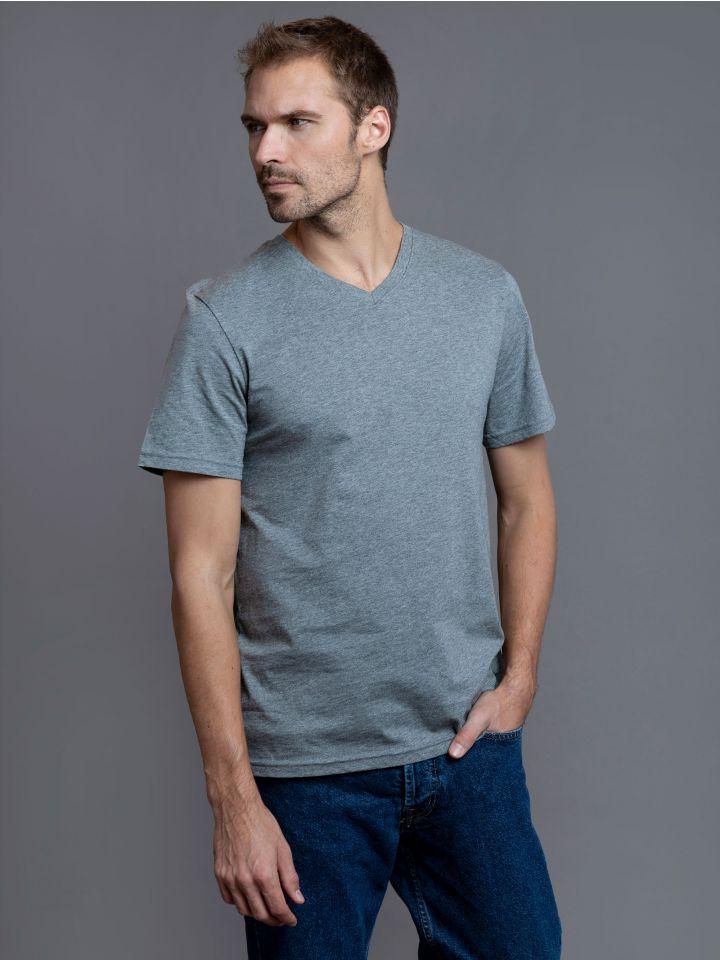 חולצת טי שירט צווארון V