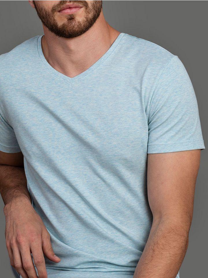 חולצת טי קצרה SLIM FIT