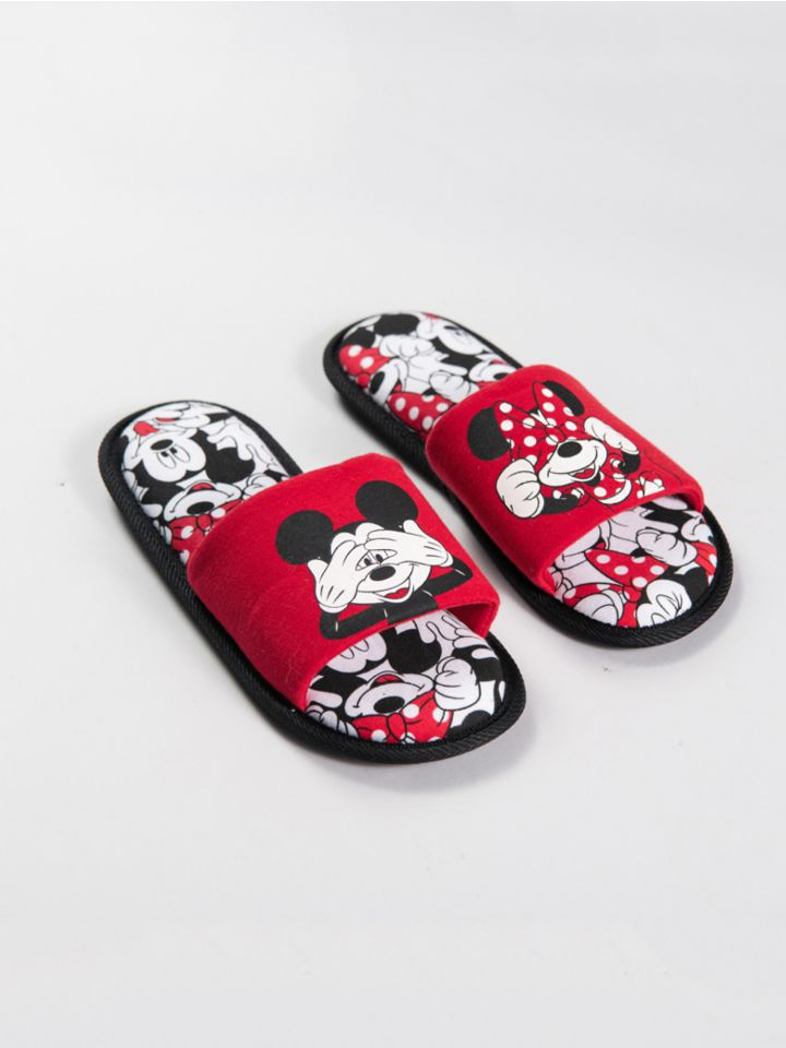נעלי בית MICKEY&MINNIE DOTS