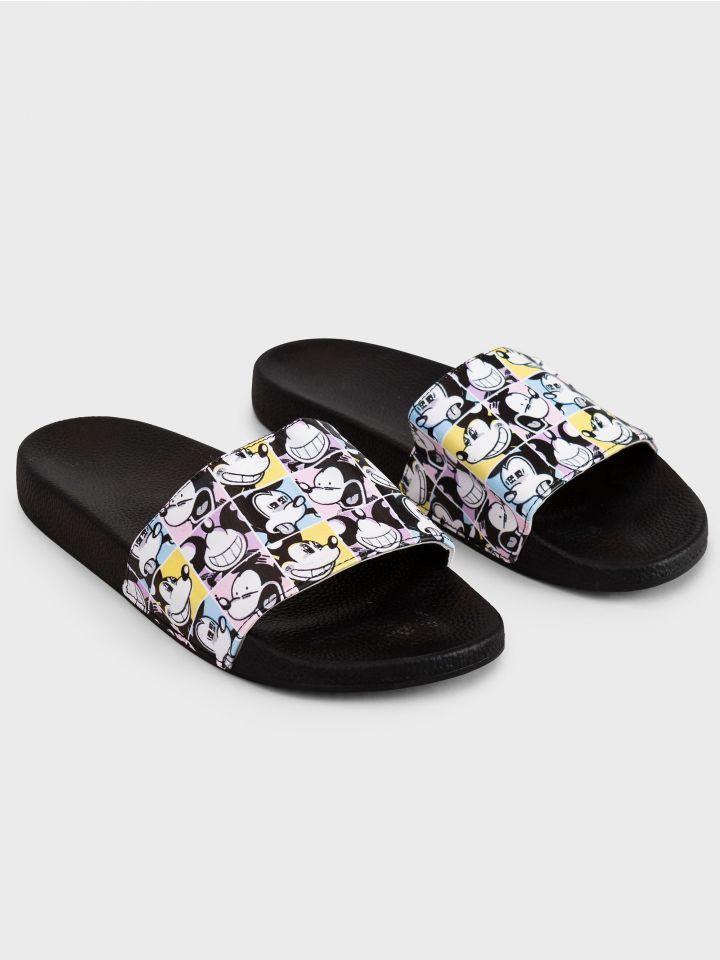 נעלי בית מגומי MICKEY CARTOON