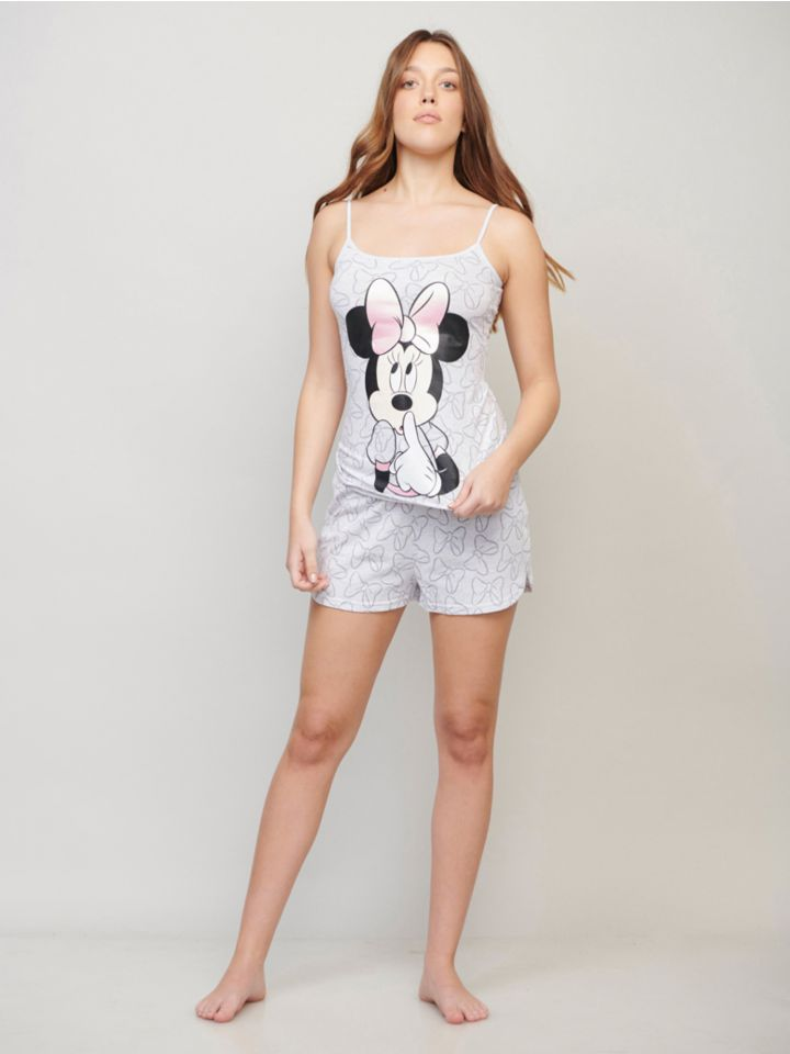 סט פיג'מה MINNIE UNDERSHIRT