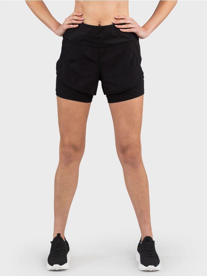 מכנסי ספורט קצרים BLACK TOUCH
