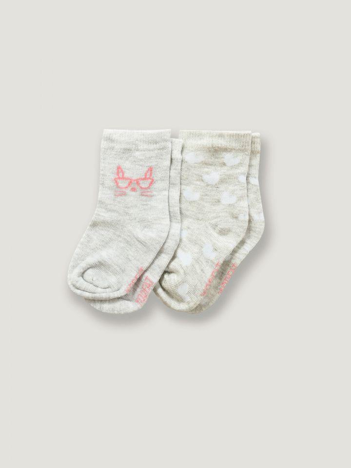 2 זוגות גרבי תינוקות