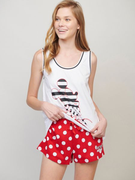 סט פיג'מה MICKEY&MINNIE SUMMER