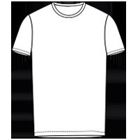 חולצת צווארון עגול